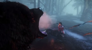 A giant ravenous bear comes to dinner, but Lara must be sure not to be on his menu!