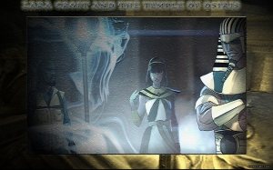 My Temple of Osiris wallpaper. ©2015 Emma's Quill