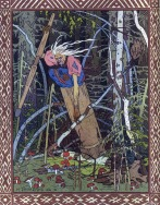 Baba Yaga as depicted by Ivan Bilibin (1902)