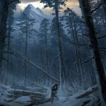 The bear valley Art: Rise of the Tomb Raider