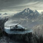 A helipad Art: Rise of the Tomb Raider