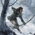 Lara hunting with her bow. Art: Rise of the Tomb Raider