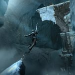 Concept art enormous​ leap! Art: Rise of the Tomb Raider