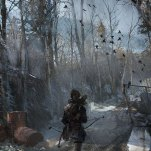 Part of the sprawling Siberian Wilderness. Rise of the Tomb Raider