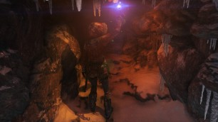 Mountain ascent cave Gameplay Screenshot Taken by Emma Q