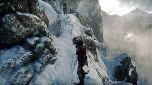 Blowing Snow & tracks. Gameplay Screenshot Taken by Emma Q