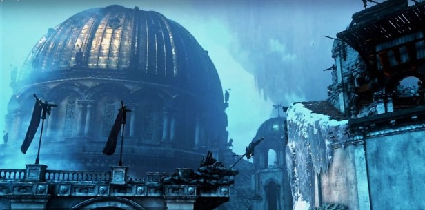 Deeper Clarity. Image credit: Crystal Dynamics video Rise of the Tomb Raider: PC Tech Feature