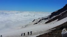 Coming into Camp Muir