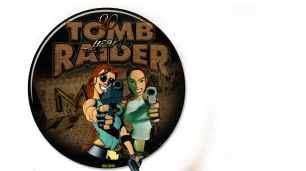 Tomb Raider 1996! A 20th anniversary Tomb Raider button created by:Emma 2016