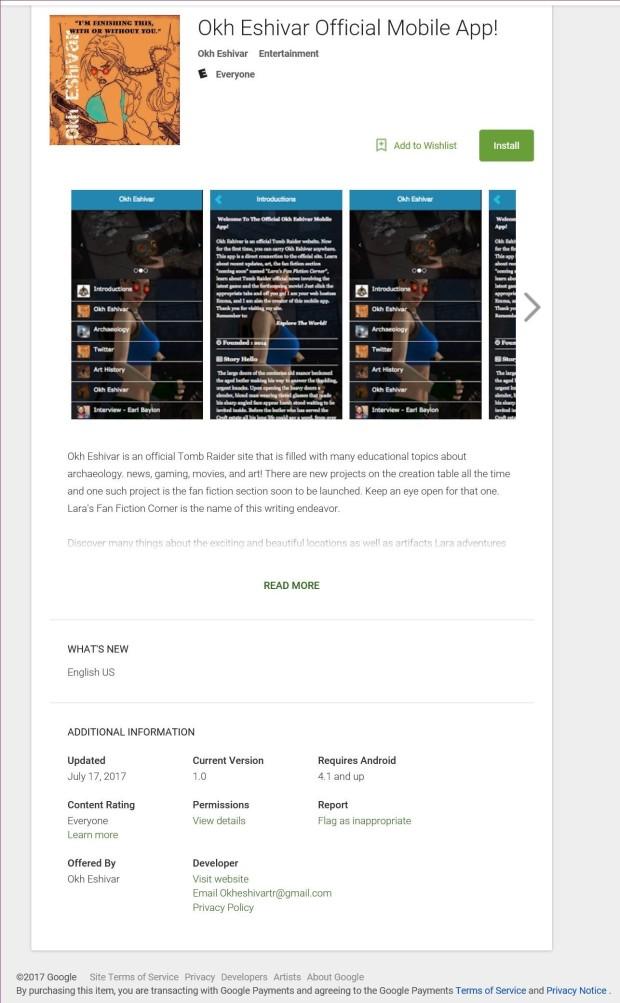 Official Mobile App Okh Eshivar